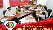Dịch thuật công chứng tài liệu Du Lịch Tại quận Cẩm Lệ - Đà Nẵng